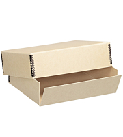 Lineco Drop Front Archival Boxes, Tan