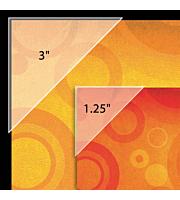 Polypropylene Mounting/ Framing Corners, Standard View