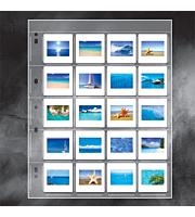 Polypropylene Slide Storage Album Pages, Top Loading