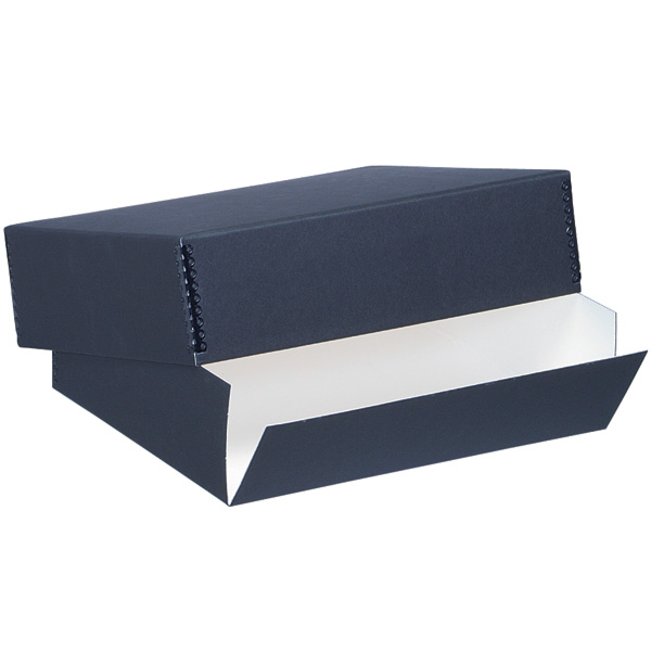 Lineco Drop Front Archival Boxes, Black