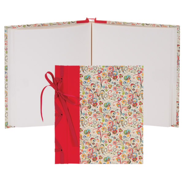 Books By Hand Large Ribbon Bound Album