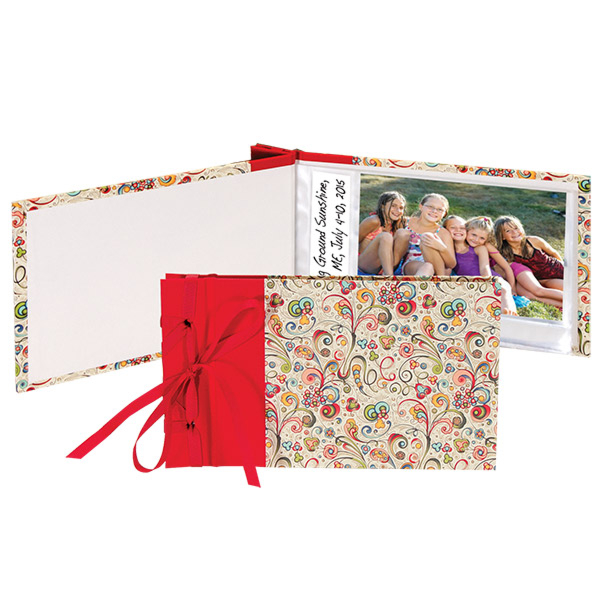 Books by Hand Ribbon Bound Brag Book