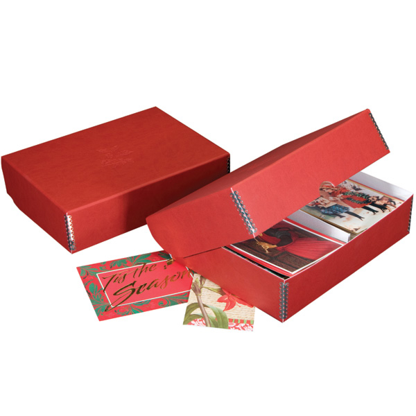 Red Box w/ embossing