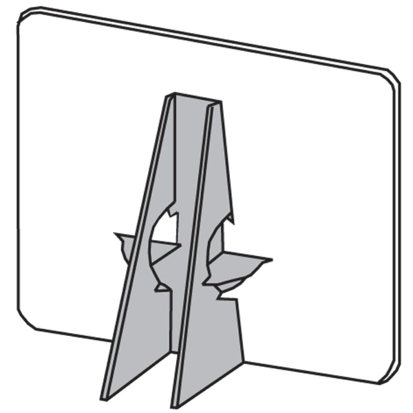 Easel Backs Self Stick Double Wing